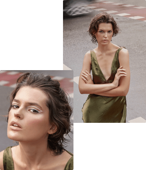 девушка модель салон красоты