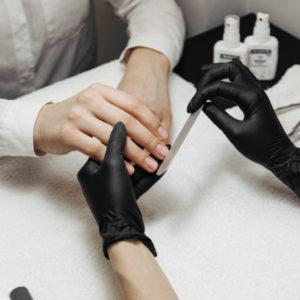 Коррекция нарощенных ногтей 1