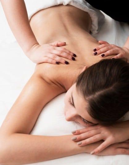 массаж спины омоложение