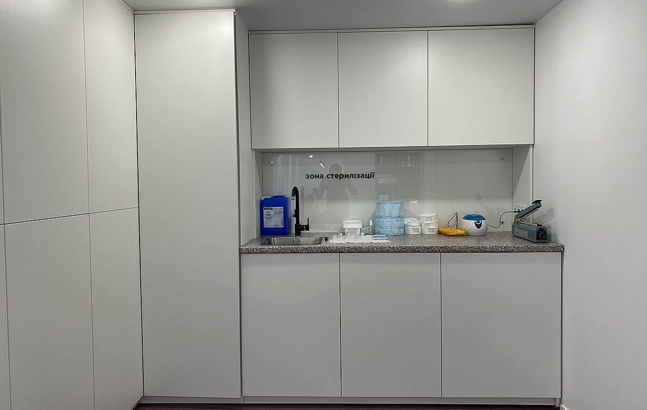 место для стерилизации инструмента